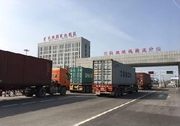 区港联动初显成效,仙桃港集装箱吞吐量再创新高
