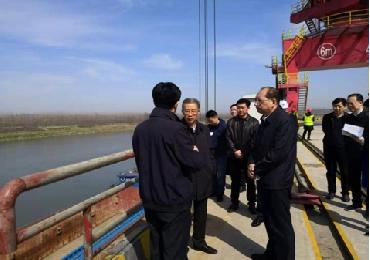 省委常委、组织部长王瑞连调研仙桃港